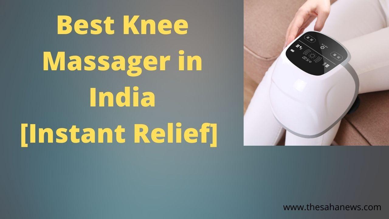 best knee massager in india online 2020